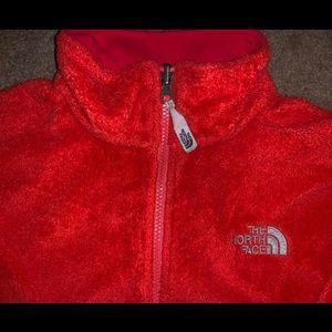 Women's North Face Fleece Zip Up